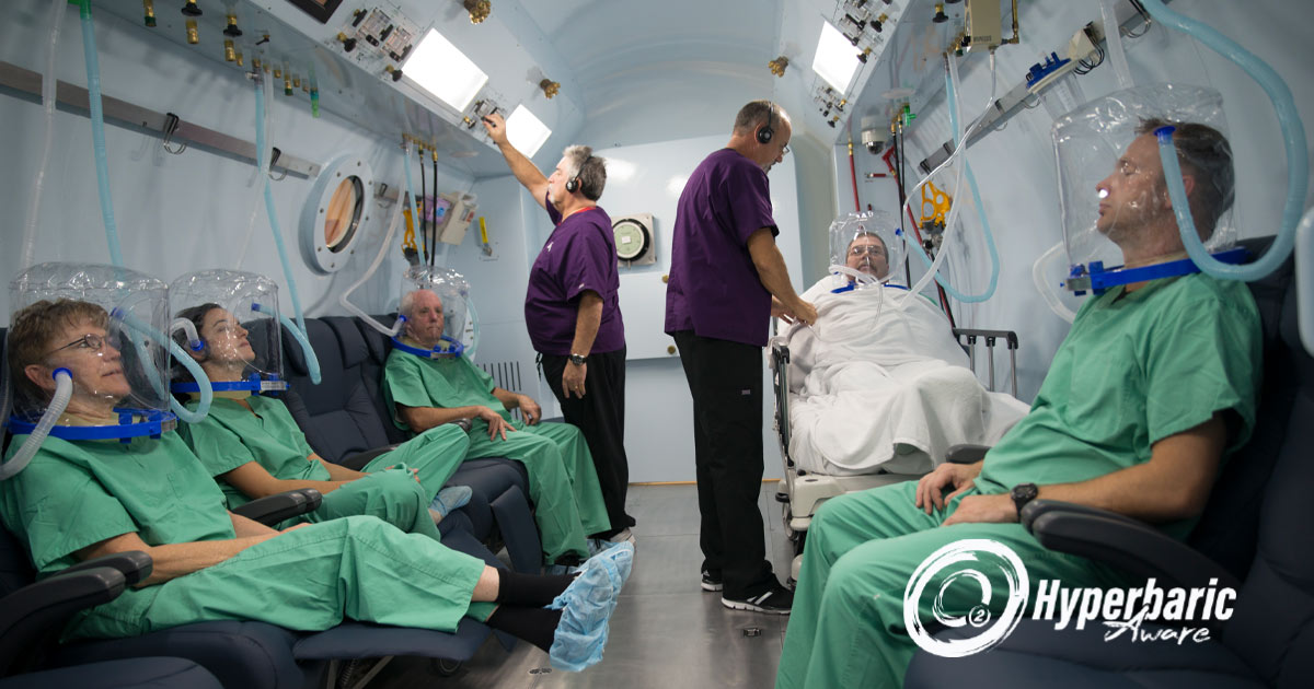 Emergency hyperbaric oxygen therapy